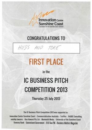 Huds and Toke - Innovation Prize