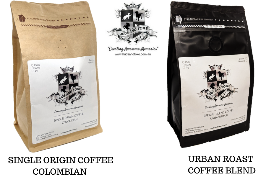 HUDS AND TOKE EXOTIC COFFEE RANGE